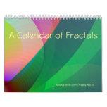 Un calendario de fractales