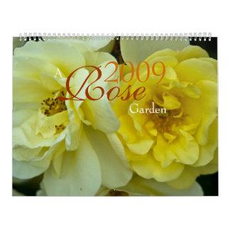 Un calendario de la rosaleda 2009