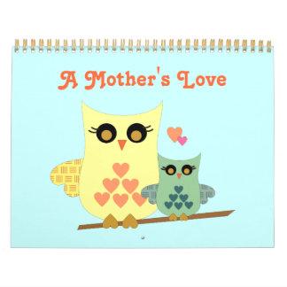 Un calendario del amor de madre
