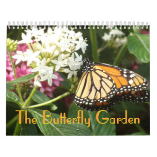 Un calendario del jardín 2013 de la mariposa