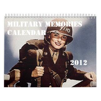 Un calendario más militar de 2012 memorias