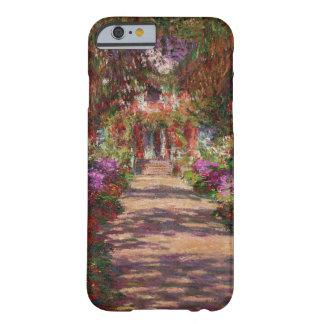 Un camino en el jardín de Monet, Giverny, iPhone 6 Funda De iPhone 6 Slim