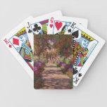 Un camino en Garden de Monet, Giverny, 1902 Baraja Cartas De Poker