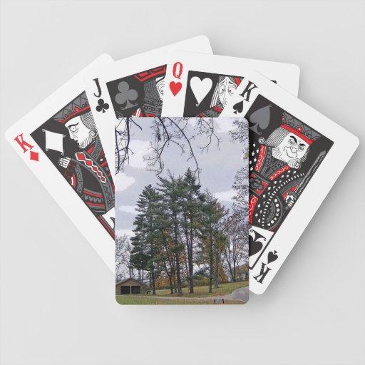 Un camino no tomado baraja de cartas
