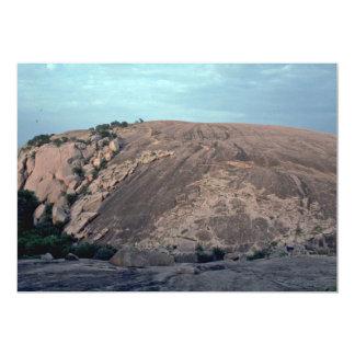 Un camino salvaje usado pozo invitación 12,7 x 17,8 cm