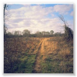 Un camino viajó menos fotografías