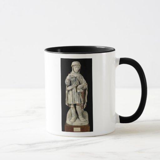 Un campesino, c.1500 taza