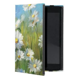 Un campo de las margaritas blancas iPad mini coberturas
