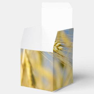 Un campo de los oídos del trigo cajas para regalos