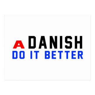 Un canadiense lo hace danés tarjeta postal