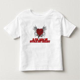 Un canadiense robó mi corazón tee shirt