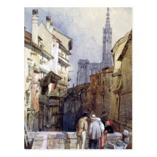 Un canal en Estrasburgo Tarjetas Postales