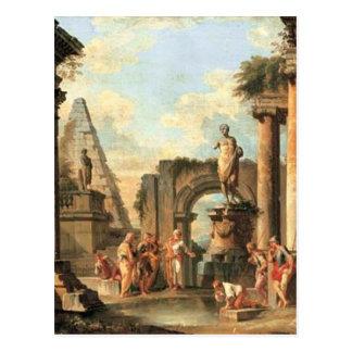 Un capricho de ruinas clásicas con Diógenes Postales