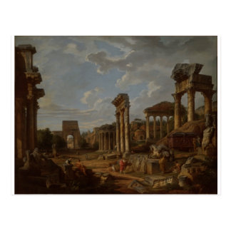 Un capricho del foro romano de Juan Pablo Postales