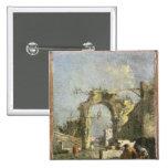 Un capricho - ruinas, siglo XVIII Pin Cuadrado