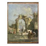 Un capricho - ruinas, siglo XVIII Postales