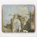 Un capricho - ruinas, siglo XVIII Alfombrilla De Raton