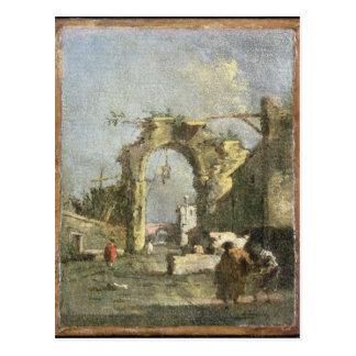 Un capricho - ruinas, siglo XVIII Postal
