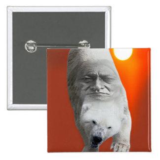 Un carácter sagrado y un apuro de los osos polares pin