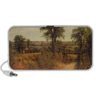 Un carril cerca de Dedham, c.1802 (aceite en lona) Notebook Altavoces