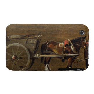 Un carro de la granja con dos caballos en arnés: Case-Mate iPhone 3 carcasa