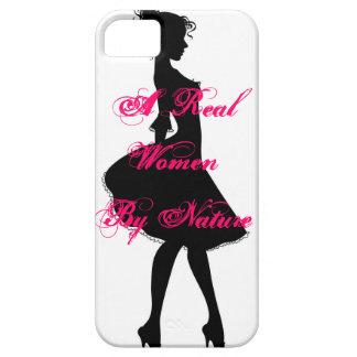 Un caso de Iphone de las mujeres reales iPhone 5 Carcasa