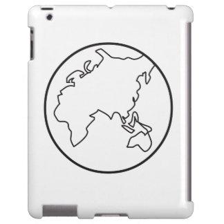 Un caso del iPad de la tierra