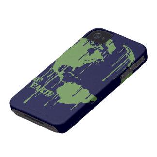 Un caso del iPhone 4 de la tierra iPhone 4 Case-Mate Carcasa
