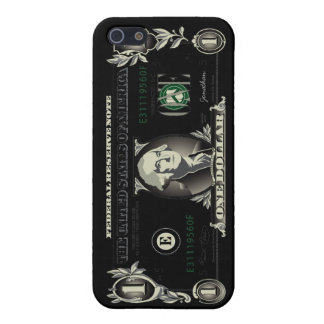 Un caso del iPhone 5 de Bill de dólar de EE. UU. iPhone 5 Coberturas