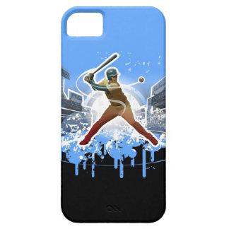 Un caso del iPhone 5 del bateador del home run Funda Para iPhone SE/5/5s