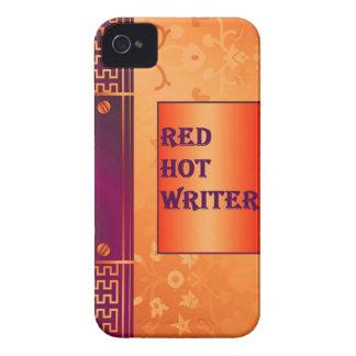 Un caso iphone4 para los escritores con colores iPhone 4 Case-Mate fundas
