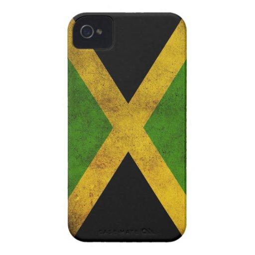 Un caso jamaicano del iPhone 4 del amor iPhone 4 Case-Mate Fundas