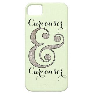 Un caso más curioso y más curioso iPhone 5 carcasa