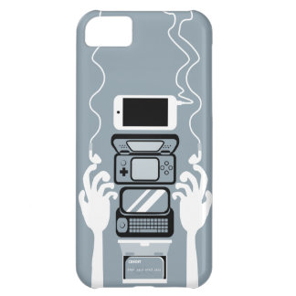 Un caso moderno del iPhone 5 del inventario
