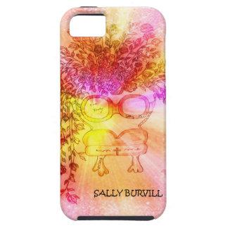 Un caso rosado del iphone funda para iPhone SE/5/5s