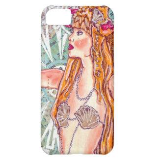"""Un caso """"sirena del iPhone 5 del peinado del SeaSh Funda Para iPhone 5C"""
