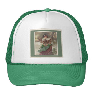 Un casquillo justo del puritano gorras