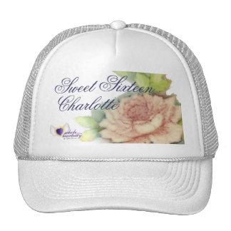 Un Casquillo-Personalizar color de rosa inglés del Gorra