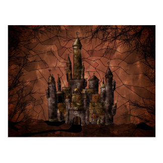 Un castillo viejo postales