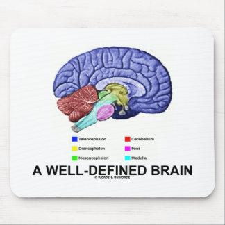 Un cerebro bien definido (humor anatómico del cere tapete de ratones