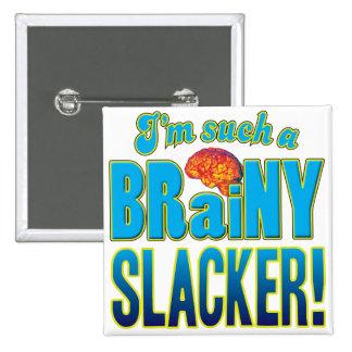 Un cerebro inteligente más flojo pin