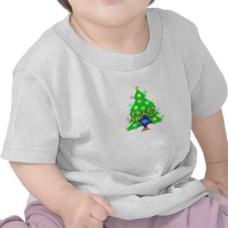 Un Chanukkah y navidad Camisetas
