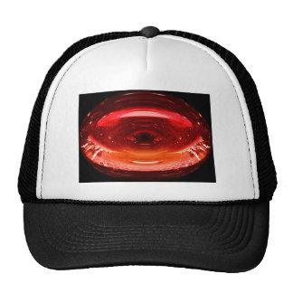 Un chapoteo del rojo gorras