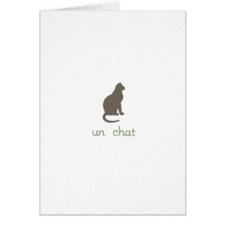 Un Chat Card