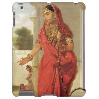 Un chica de baile indio con una cachimba, 1772 (ac