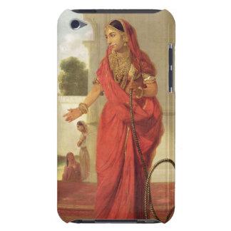 Un chica de baile indio con una cachimba, 1772 (ac iPod touch Case-Mate cobertura