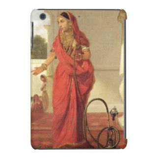 Un chica de baile indio con una cachimba, 1772 funda para iPad mini retina