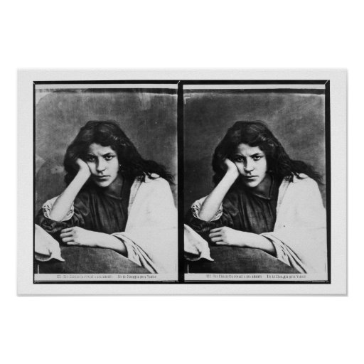 Un chica de Chioggia que soña con sus amores (phot Poster