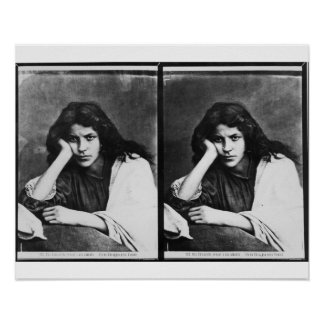 Un chica de Chioggia que soña con sus amores (phot Póster