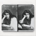 Un chica de Chioggia que soña con sus amores (phot Tapete De Ratones